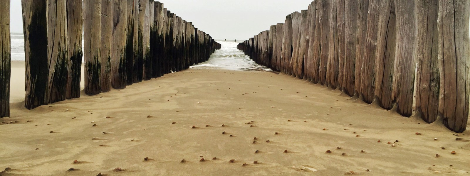 Oostkapelle am Strand