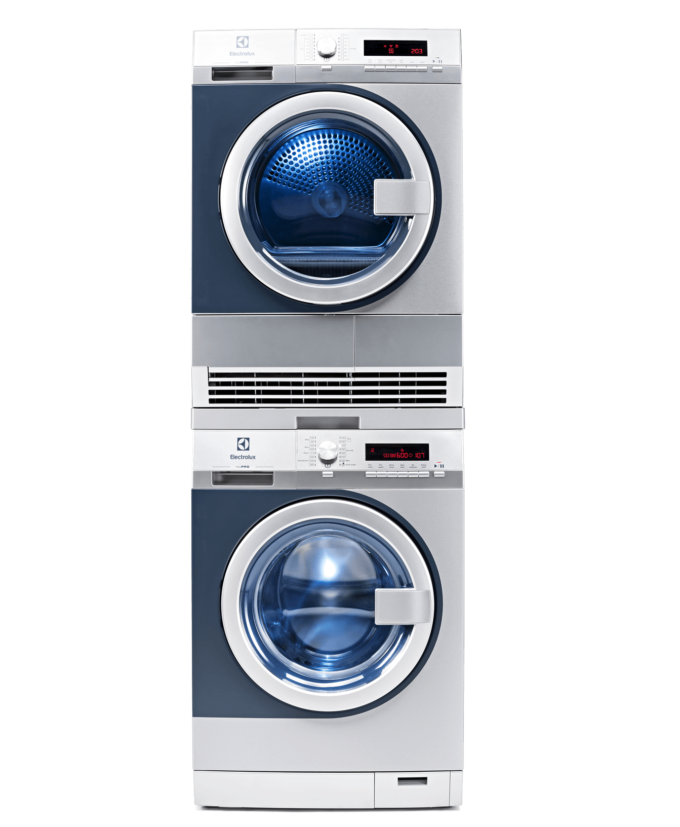 Electrolux Condenser Dryer Electrolux Mypro Washer Dryer 2x8kg The Opl Group