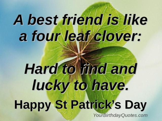 Happy st. Patrick's Day 2017 Sayings Quotes