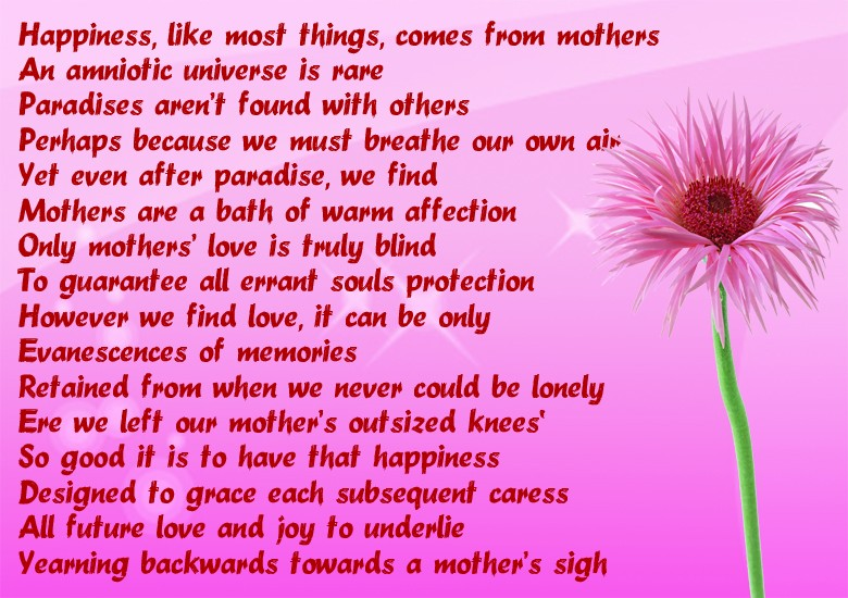 mother\u0027s day card sayings - mother s day cards