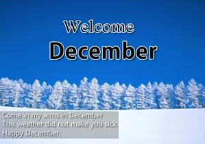 Images, Quotes Welcome December