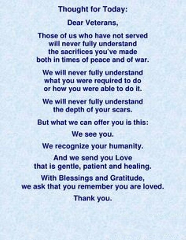 letter to veterans - Peopledavidjoel