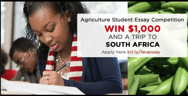 fara agriculture student essay competition