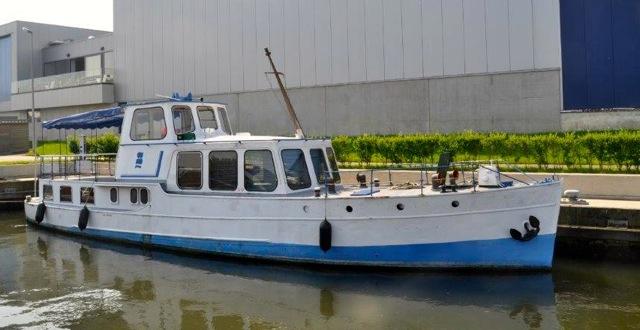 Yacht 'Fair Play' Frans Boel