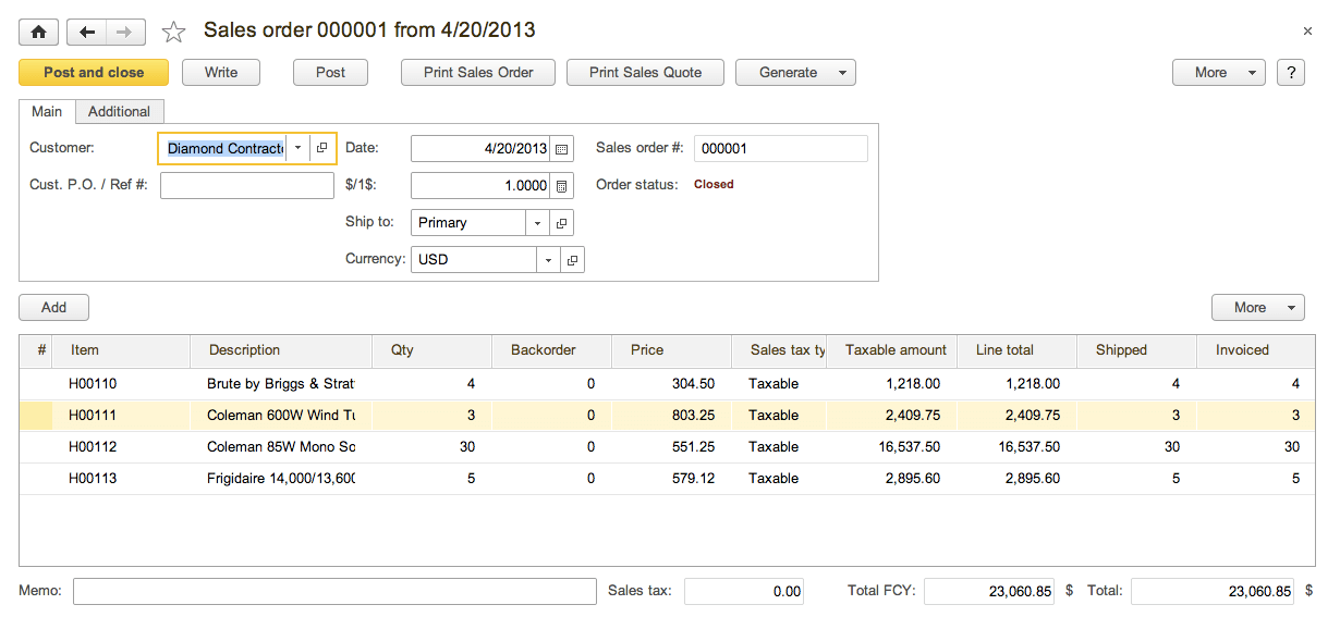 Start Simple Invoices Sales Module Orders Invoicing Returns Refunds And Payments