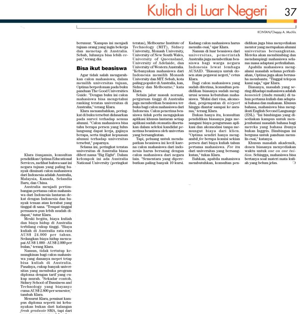Kontan Aug 2010 pg 37