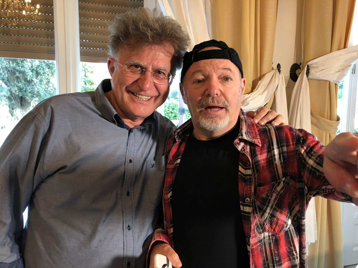 Vasco Rossi Rimini Red Ronnie Ha Incontrato Vasco Rossi A Rimini