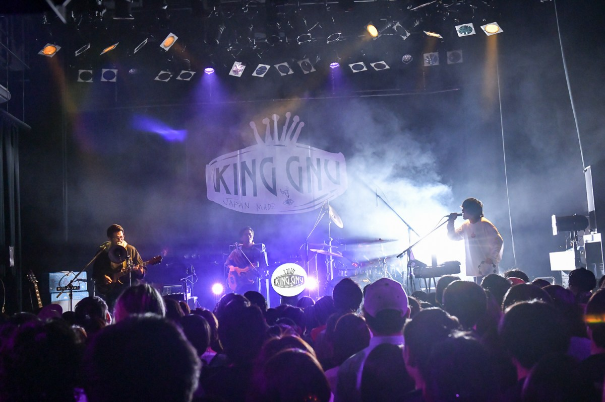 [Live Report] King Gnu - 2018年3月23日 King Gnu ONE-MAN LIVE 追加公演「Tokyo Rendez-Vous X」