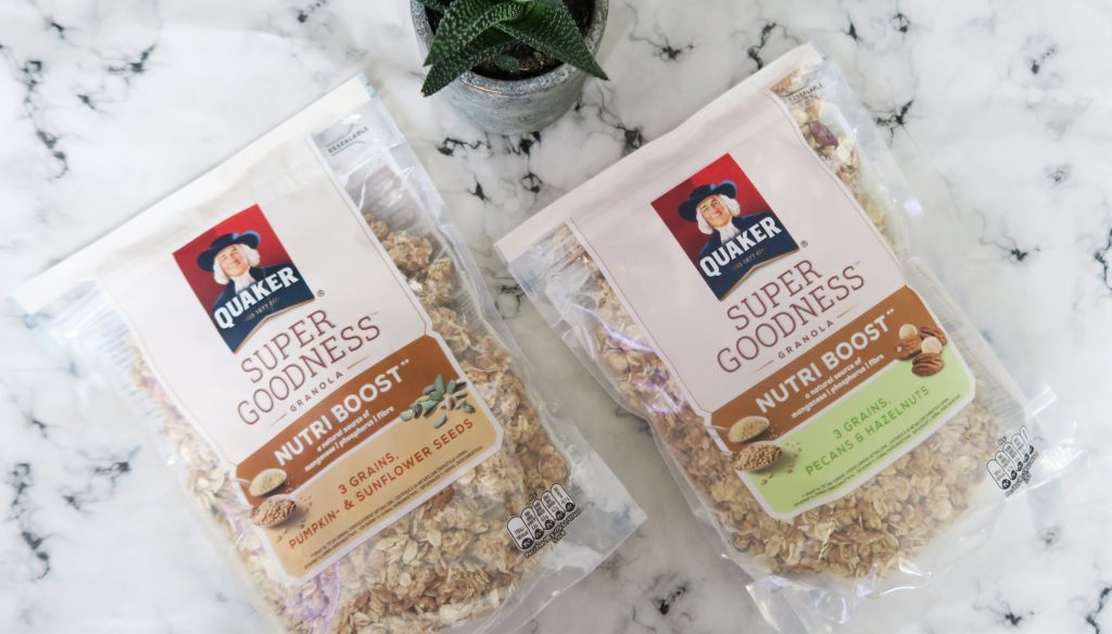 Gezonde Stamppot Recepten Review: Quaker Super Goodness Granola - Optima Vita