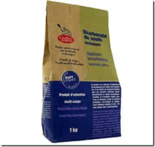 bicarbonate de soude ménager