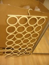 Diy: Scarf Hanger | Orangedotgreen's Weblog