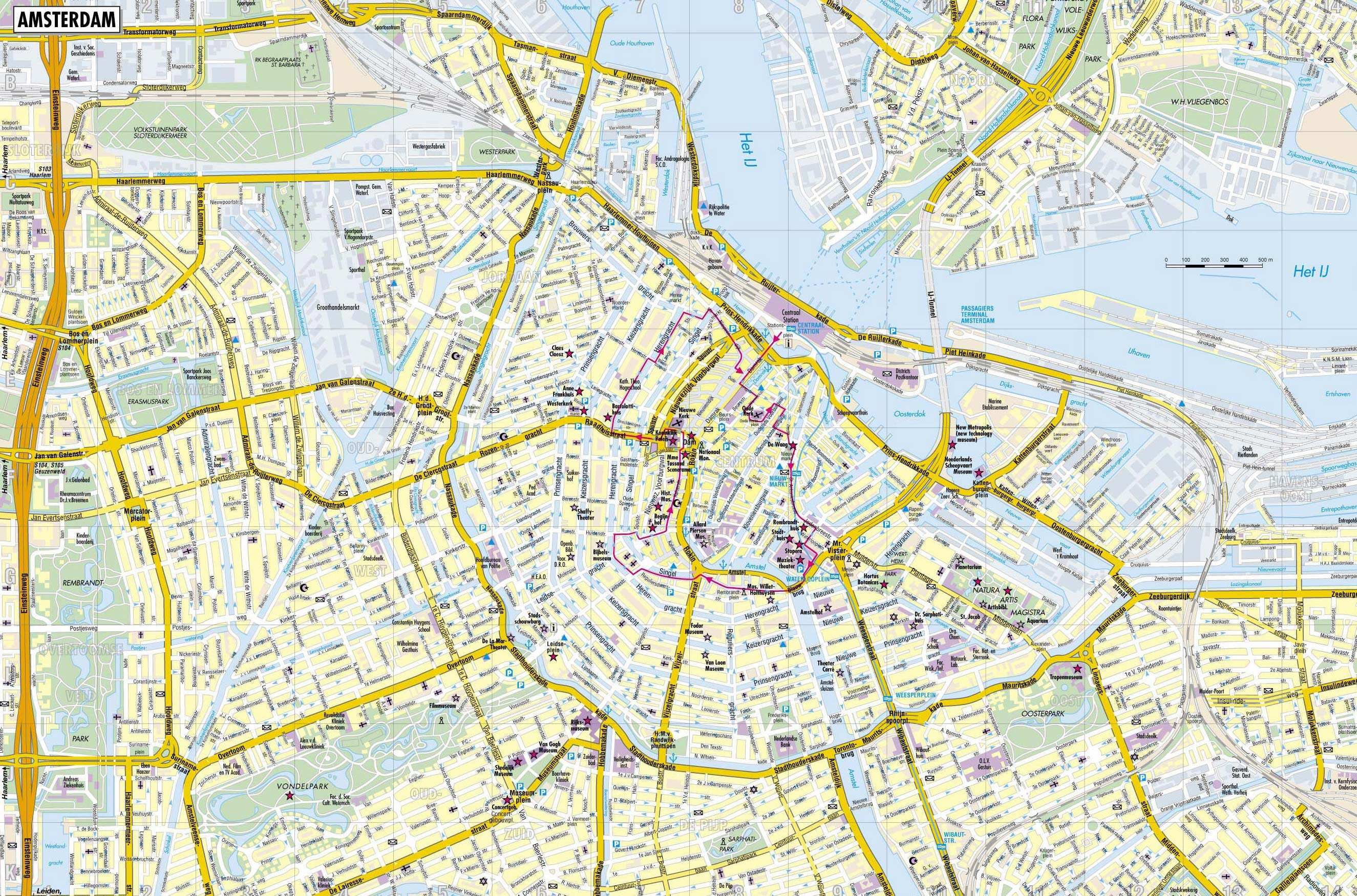 Venlo Stadtplan Large Amsterdam Maps For Free Download And Print | High