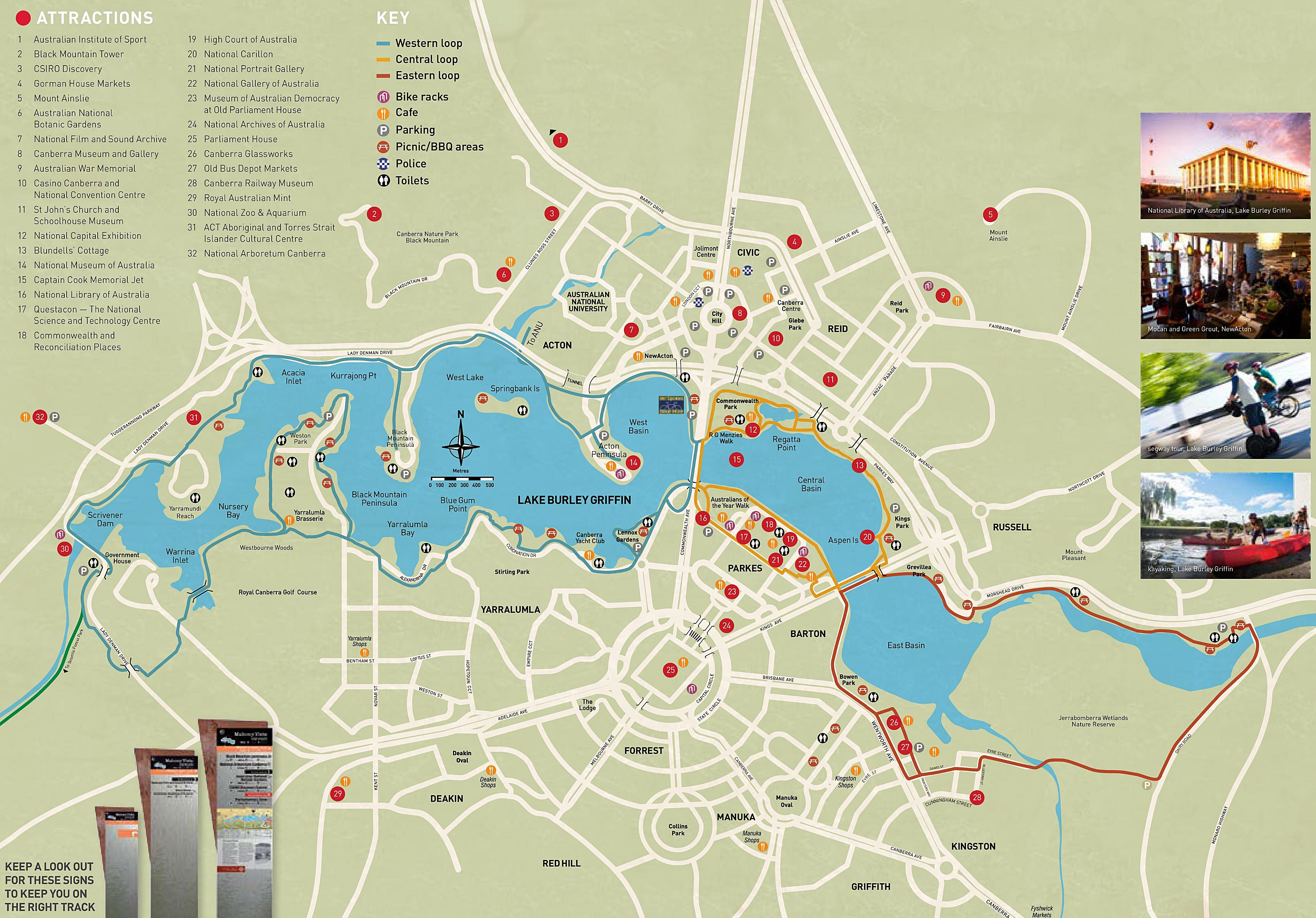 Map Of Canberra Large Canberra Maps For Free Download And Print High Resolution