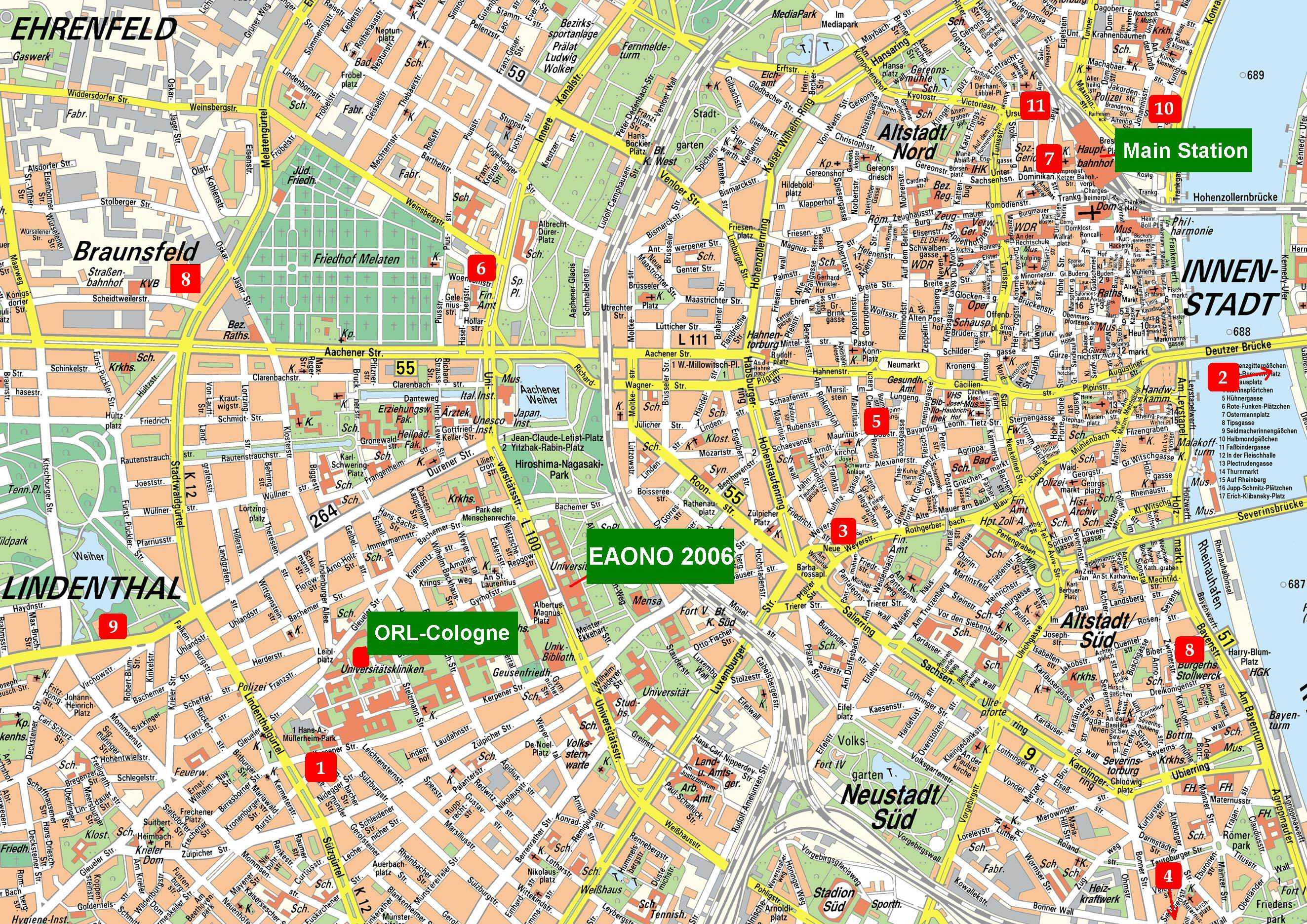 Urbania Bochum Large Cologne Maps For Free Download And Print High