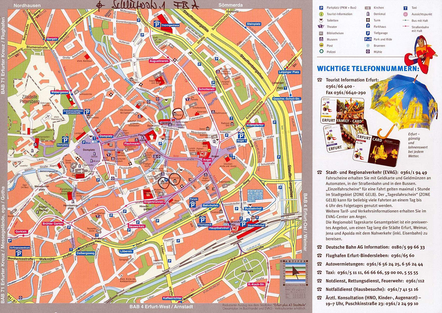Bus Berlin Erfurt Large Erfurt Maps For Free Download And Print High Resolution
