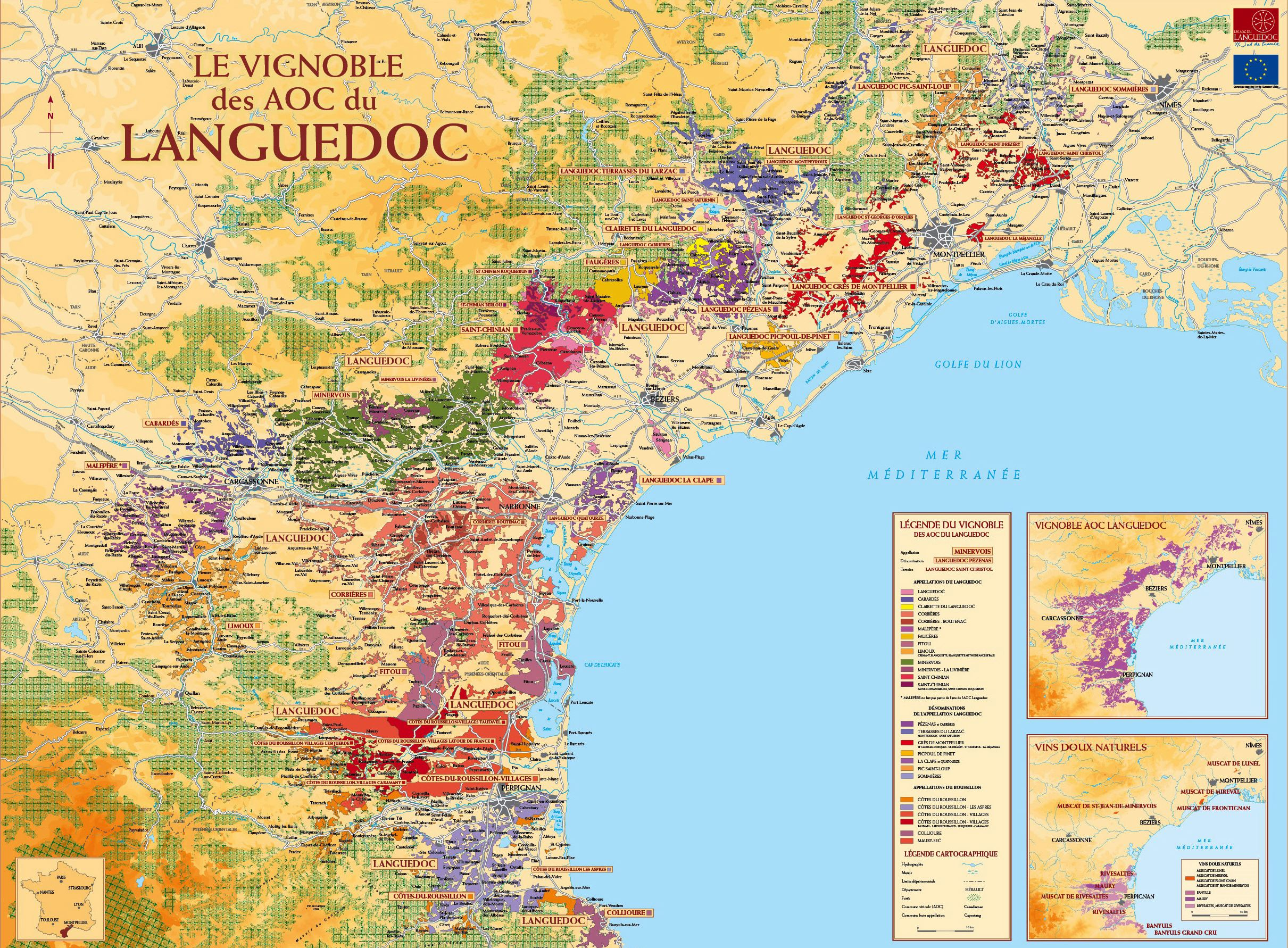 Languedoc Roussillon Région Large Languedoc Roussillon Maps For Free Download And Print High