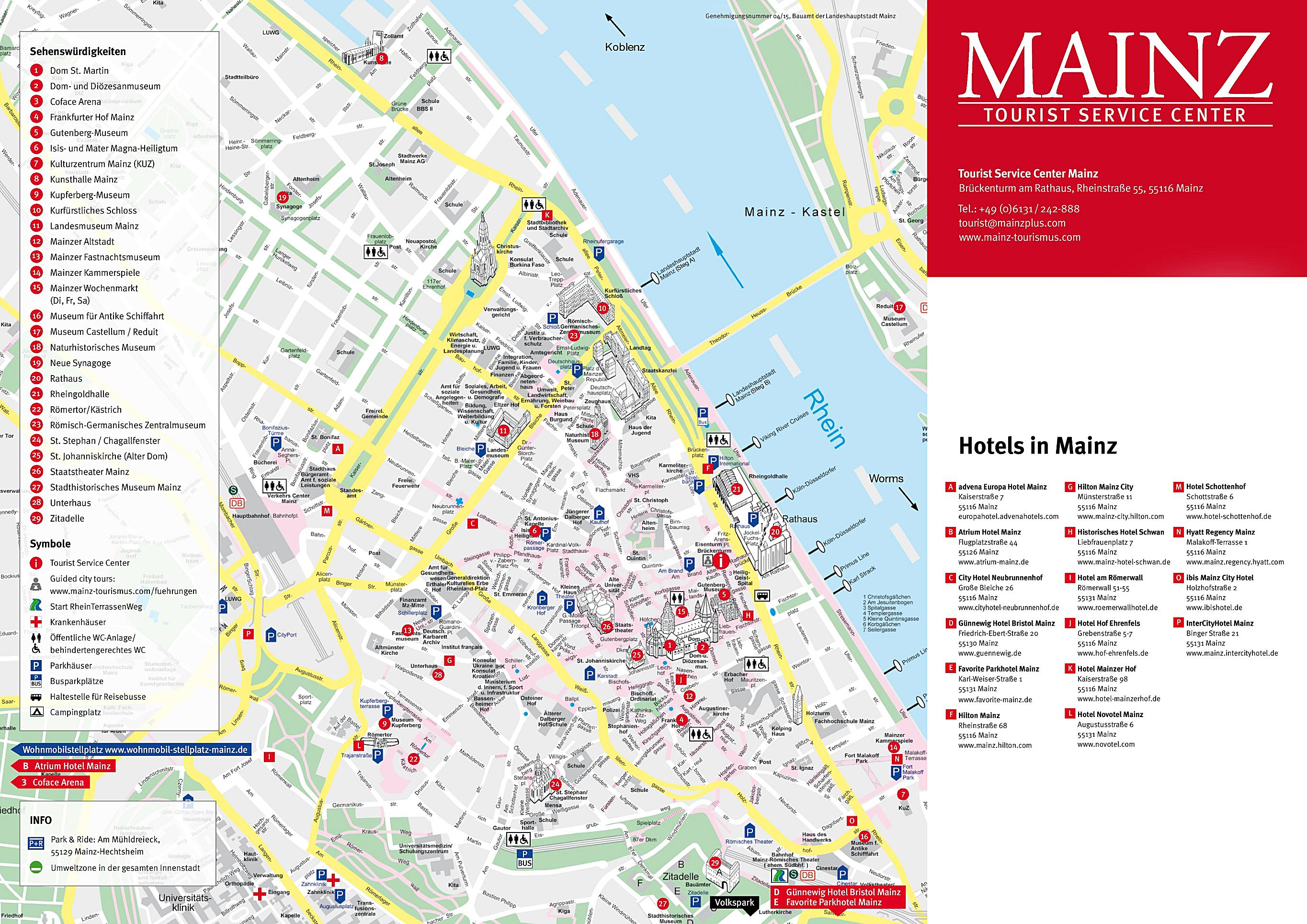 Maps Saarbrücken Large Mainz Maps For Free Download And Print High Resolution And