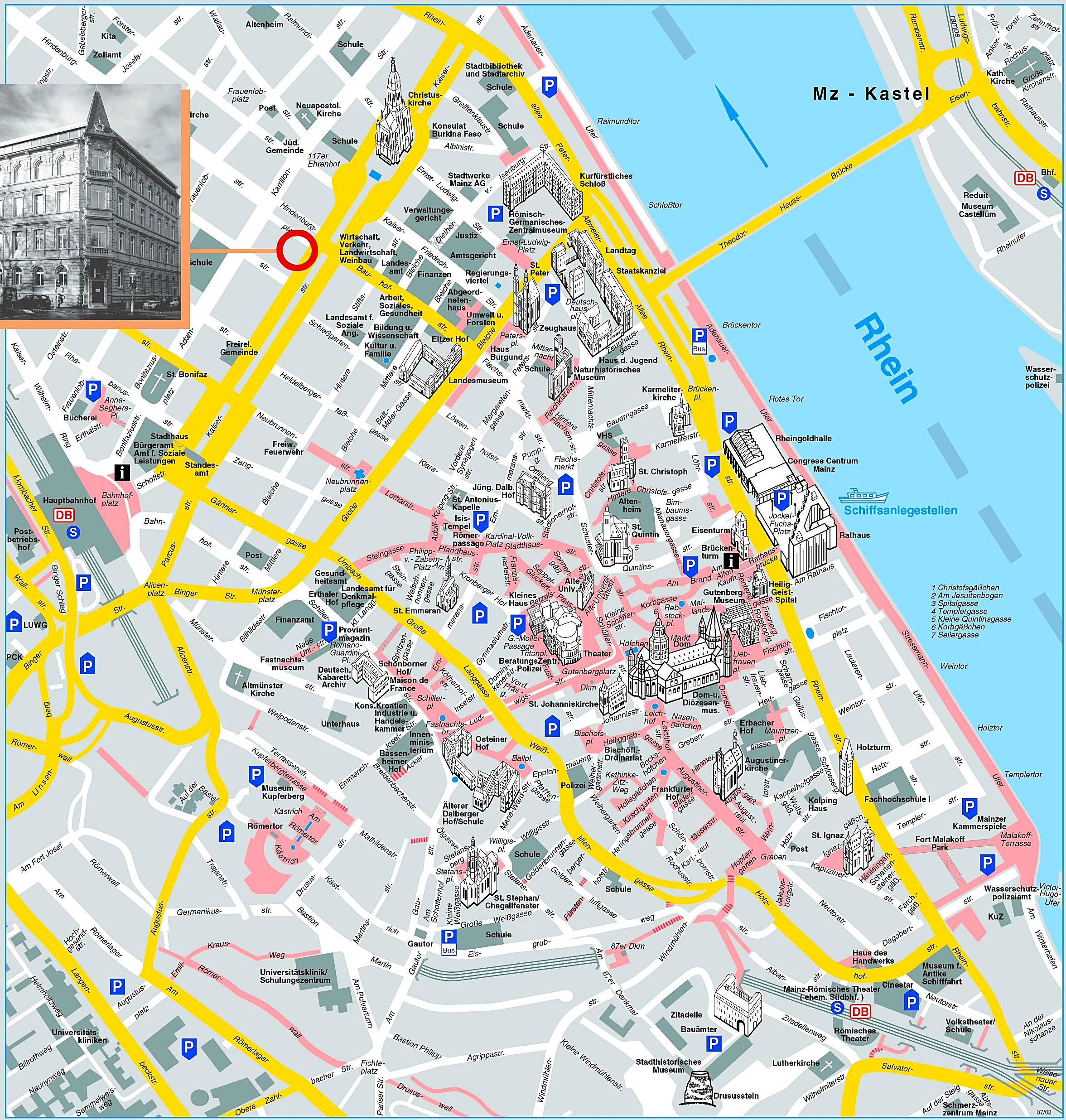 Karlsruhe Maps Large Mainz Maps For Free Download And Print High Resolution And
