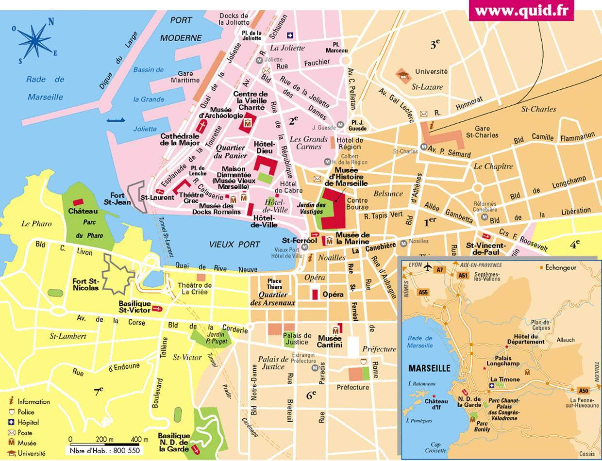 Bus Toulon Marseille Large Marseille Maps For Free Download And Print High Resolution