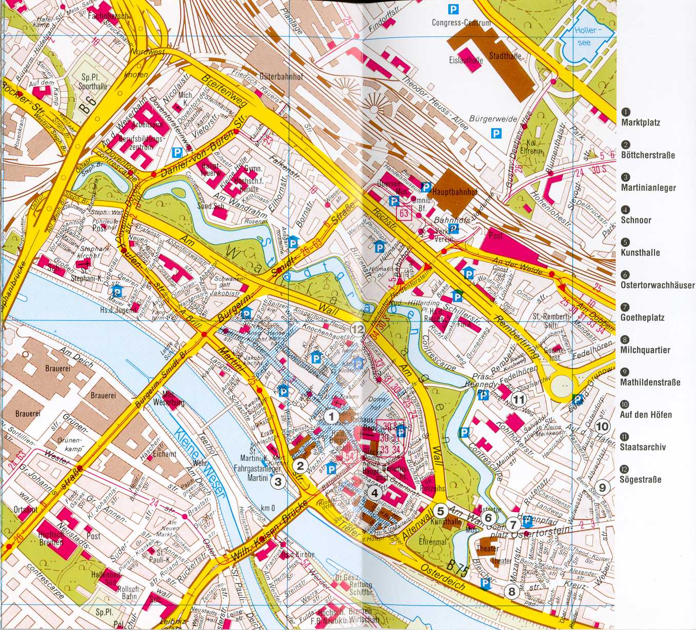 Wellness Bad Bentheim Bremen Map - Detailed City And Metro Maps Of Bremen For