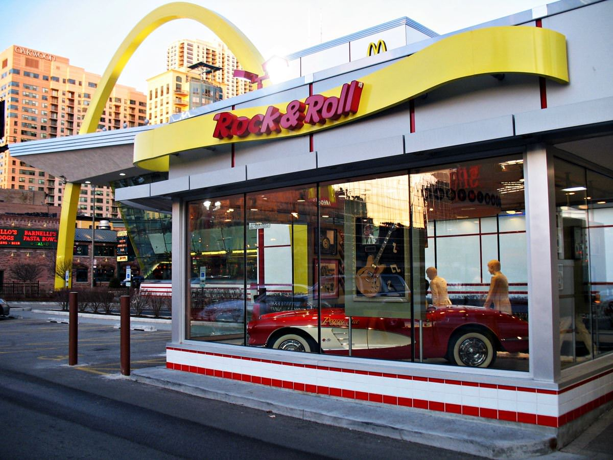 Rock N Roll Interieur Rock N Roll Mcdonalds Series 39the Most Unusual