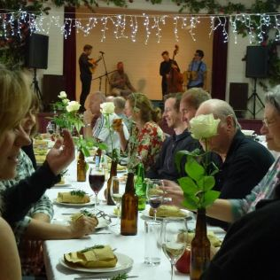 Oratia Hall Interior Event and Band