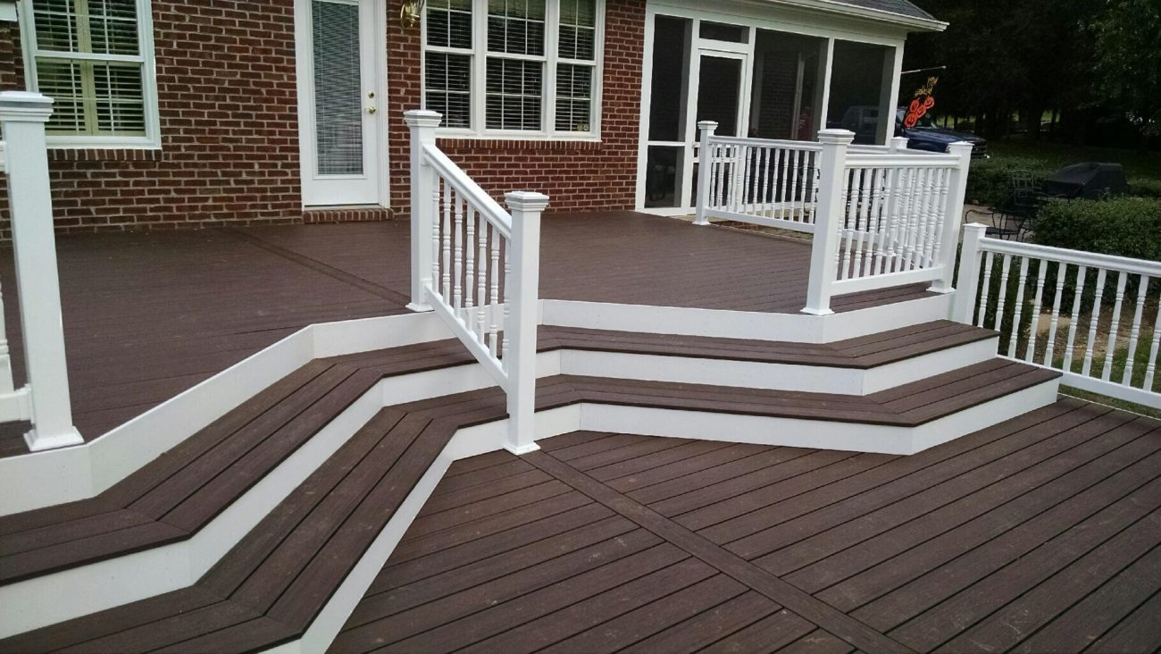 Synthetic Deck Boards The Benefits Of A Trex Deck Orbe Construction Washington Dc