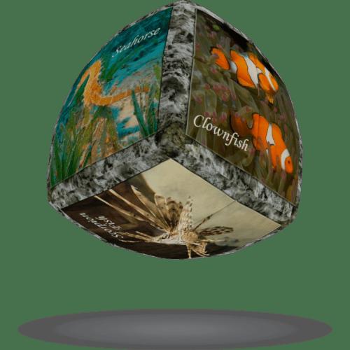 V-CUBE 2 Pillowed - Sea World