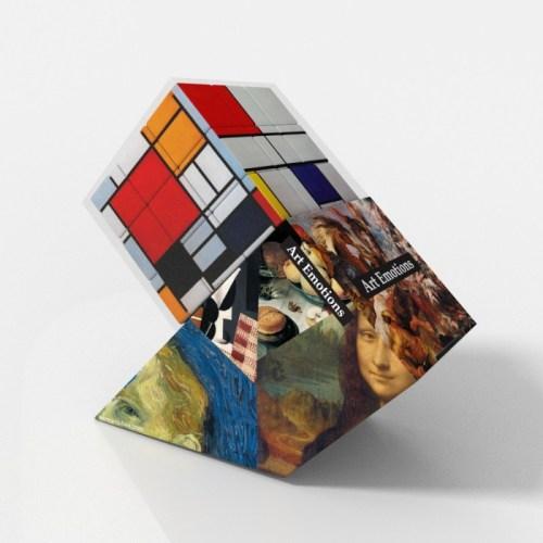 V-CUBE 3 Flat - Mondrian - In Packaging