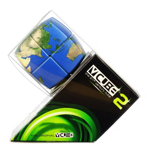 V-CUBE 2 Pillowed - Earth - In Packaging