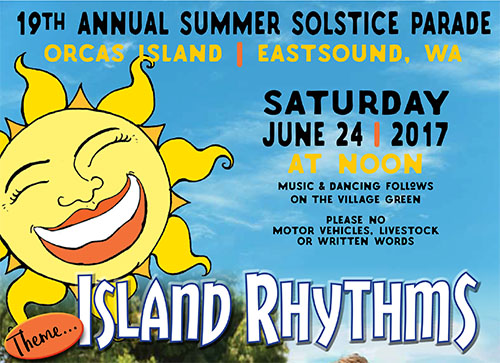 Welcome Summer at Solstice Parade  Celebration - Orcas Issues News