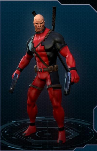 Minecraft Skin Wallpaper Girl Marvel Heroes Deadpool Unmasked Costume Orcz Com The