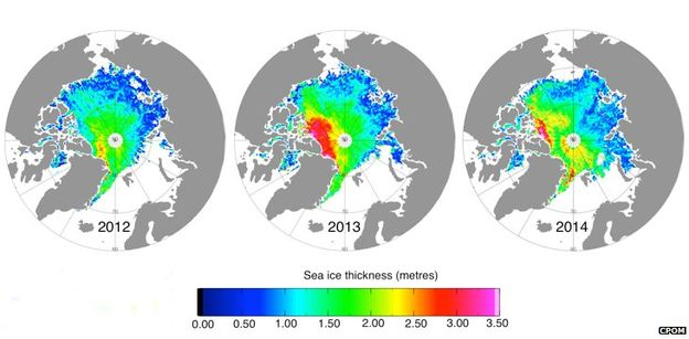 sea ice increasing