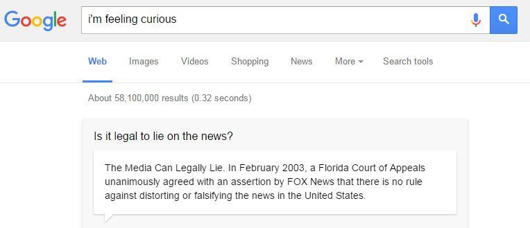 google curious