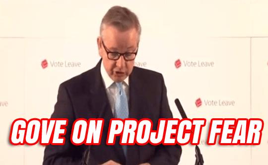 Michael Gove EU Speech