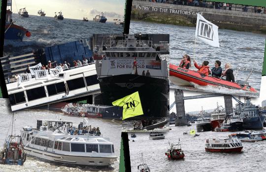 brexit flotilla collage