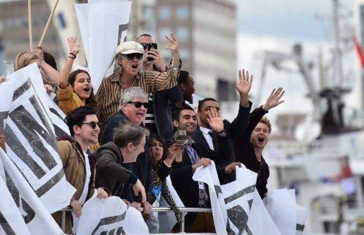Bob Geldof Boat Passenger Votes Leave