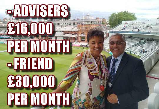 Six Figures For Baroness Scotland's Friends