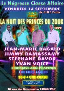 Nuit des Princes du Zouk