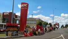 KFC_Auckland_strike