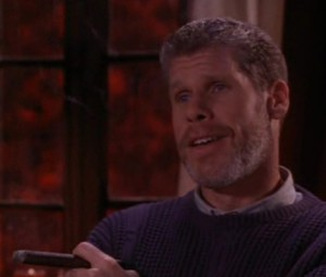 """Ron Perlman as Norman Arbuthnot in """"The Last Supper"""", Four Stars"""
