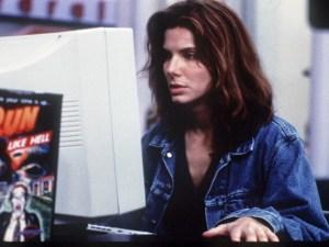 """Sandra Bullock as Angela Bennett in """"The Net"""" - Two stars"""