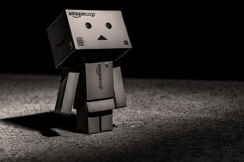 black robot photo