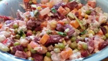 Salat Olivier.