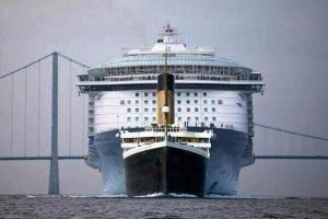 The RMS Titanic was such a cute little cruise boat.