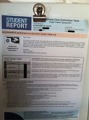 standardized test photo