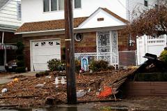 flood damage house photo