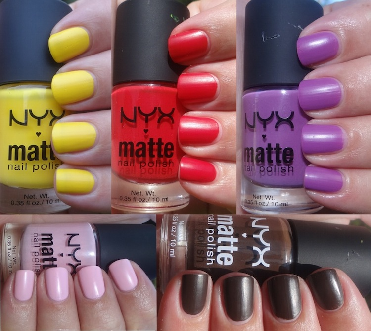NYX Matte nail polish.