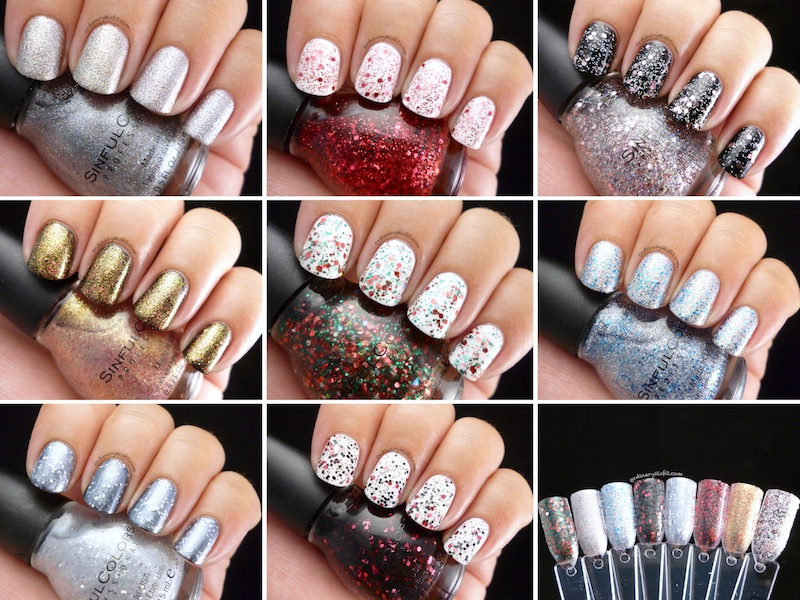 Sinful Colors - Glitz and Glittered collection