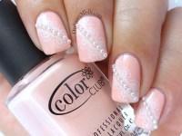 Pearls and Lace nail art   OrdinaryMisfit